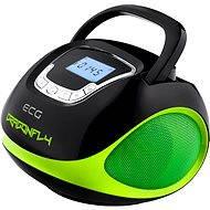 ECG R 500 U zelené - Rádiomagnetofón
