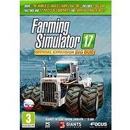 Farming Simulator 17 oficiálne rozšírenie BIG BUD - Herný doplnok