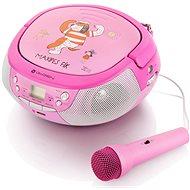 Gogen Maxi prehrávač P ružovo-purpurový - Rádiomagnetofón