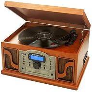 Ricatech RMC250 6 in 1 Paprika Wood + album ADELE na vinyle ZADARMO - Gramofón