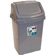 Wham Kôš odpadkový 15l strieborný 11745 - Odpadkový kôš