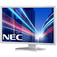 "24"" NEC MultiSync PA242W-SV2 biely - LCD monitor"