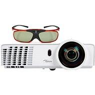 Optoma GT760 Short Throw + 3D okuliare ZD302 - Projektor