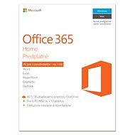 Microsoft Office 365 Home predplatné - Elektronická licencia