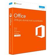 Microsoft Office 2016 pre domácnosti a podnikateľov CZ - Kancelársky balík