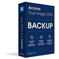 Acronis True Image 2018 CZ pre 3 PC