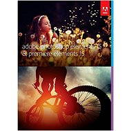 Adobe Photoshop Elements 15 + Premiere Elements 15 CZ - Grafický softvér