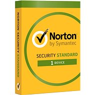 Symantec Norton Security Standard 3.0 CZ, 1 používateľ, 1 zariadenie, 12 mesiacov - Elektronická licencia