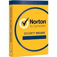 Symantec Norton Security Deluxe 3.0 CZ, 1 užívateľ, 3 zariadenia, 12 mesiacov (elektronická licencia) - Elektronická licencia