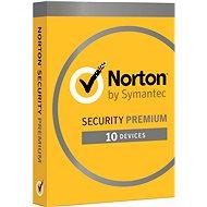 Symantec Norton Security Premium 25 GB 3.0 CZ, 1 používateľ, 10 zariadení, 12 mesiacov - Elektronická licencia