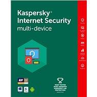 Kaspersky Internet Security multi-device 2016/2017 na 4 zariadenia na 12 mesiacov - Bezpečnostný softvér