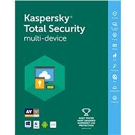 Kaspersky Total Security multi-device 2016 pre 3 zariadenia na 12 mesiacov - Bezpečnostný softvér