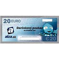 Darčekový poukaz Alza.sk na nákup tovaru v hodnote 20 € - Poukaz