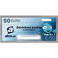 Darčekový poukaz Alza.sk na nákup tovaru v hodnote 50 € - Poukaz