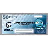 Elektronický darčekový poukaz Alza.sk na nákup tovaru v hodnote 50 EUR - Poukaz
