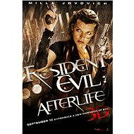 3D Resident Evil: Afterlife, český dabing - Blu-ray film