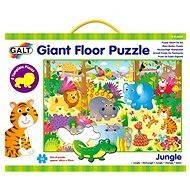 GALT Veľké podlahové puzzle - zvieratká v džungli - Puzzle