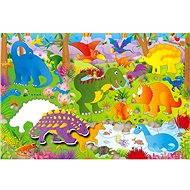 GALT Veľké podlahové puzzle – dinosaury - Puzzle