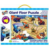 GALT - Veľké podlahové puzzle - na stavenisku - Puzzle