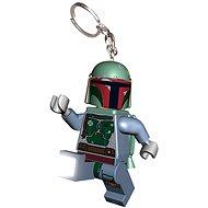 LEGO Star Wars Boba Fett - Svietiaca kľúčenka
