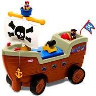 Little Tikes Odrážadlo - Pirátska loď - Detské odrážadlo