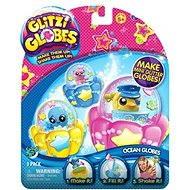 Glitters - Trblietavá sněžítka 3-pack - Sněžítka z oceánu - Figúrka