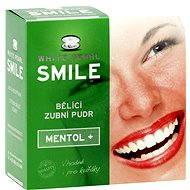 WHITE PEARL Smile bieliaci púder Mentol+ 30 g - Bieliaci púder