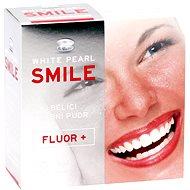 WHITE PEARL Smile Fluór+ 30 g - Bieliaci púder