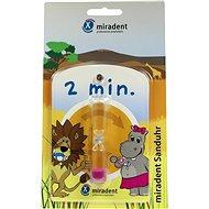MIRADENT Presýpacie hodiny na meranie času čistenie zubov - Hodiny