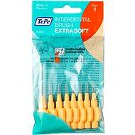 TEPE Extra Soft 0,45 mm oranžové 8 ks - Medzizubné kefky