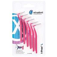 MIRADENT I-Prox L 0,4 mm ružové (6 ks) - Medzizubné kefky