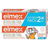 ELMEX Kids duopack 2× 50 ml - Zubná pasta