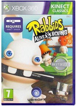 Xbox 360 - Raving Rabbids Alive & Kicking (Kinect ready)