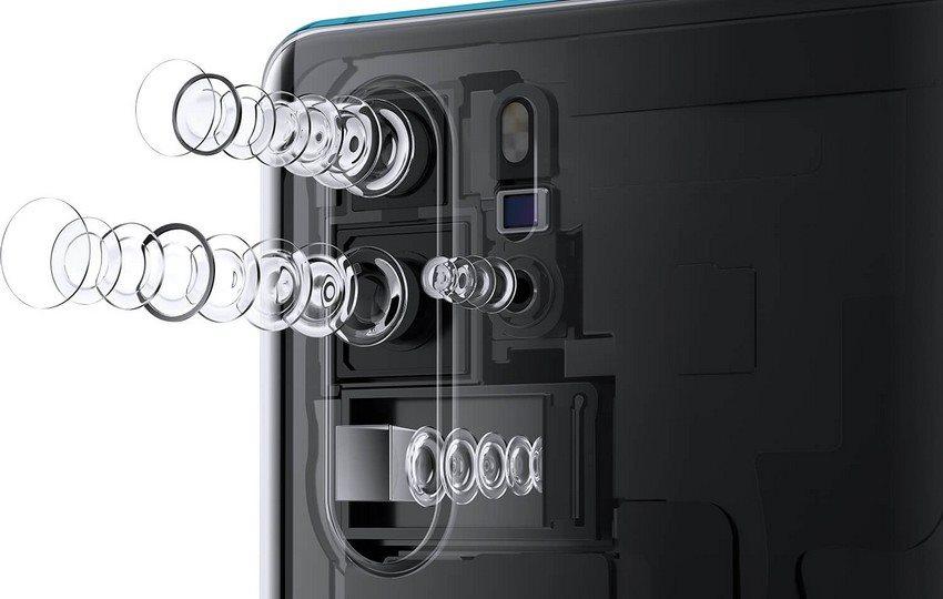 Huawei P30 Pro, fotoaparát