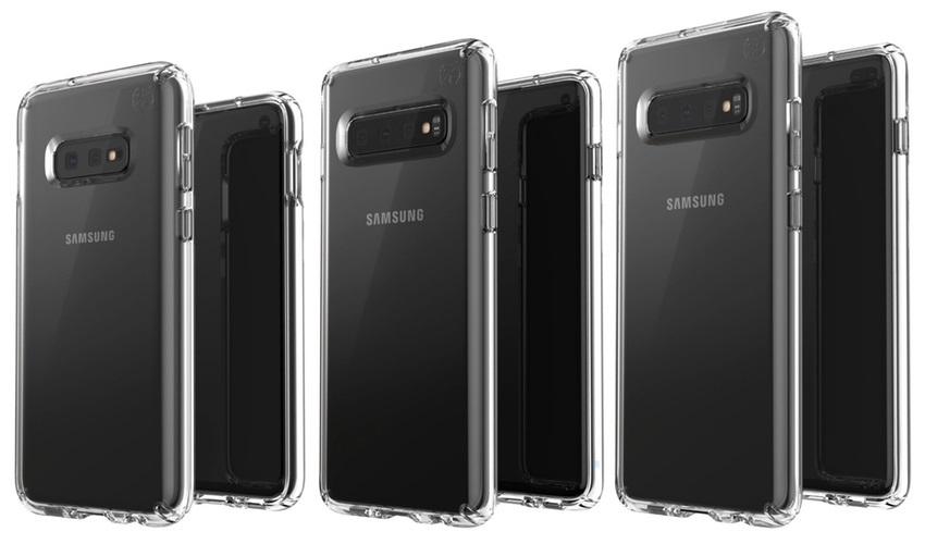 Samsungy Galaxy S10, kryty