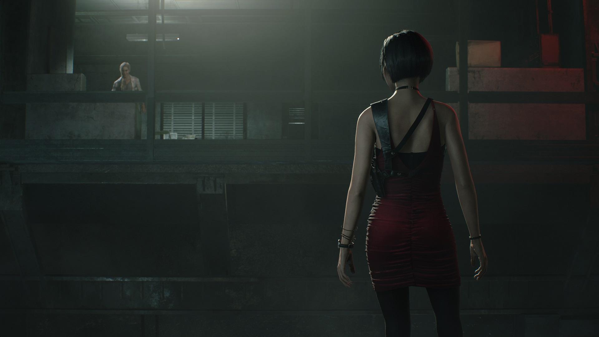 Resident evil 2, screenshot, Ada, postava