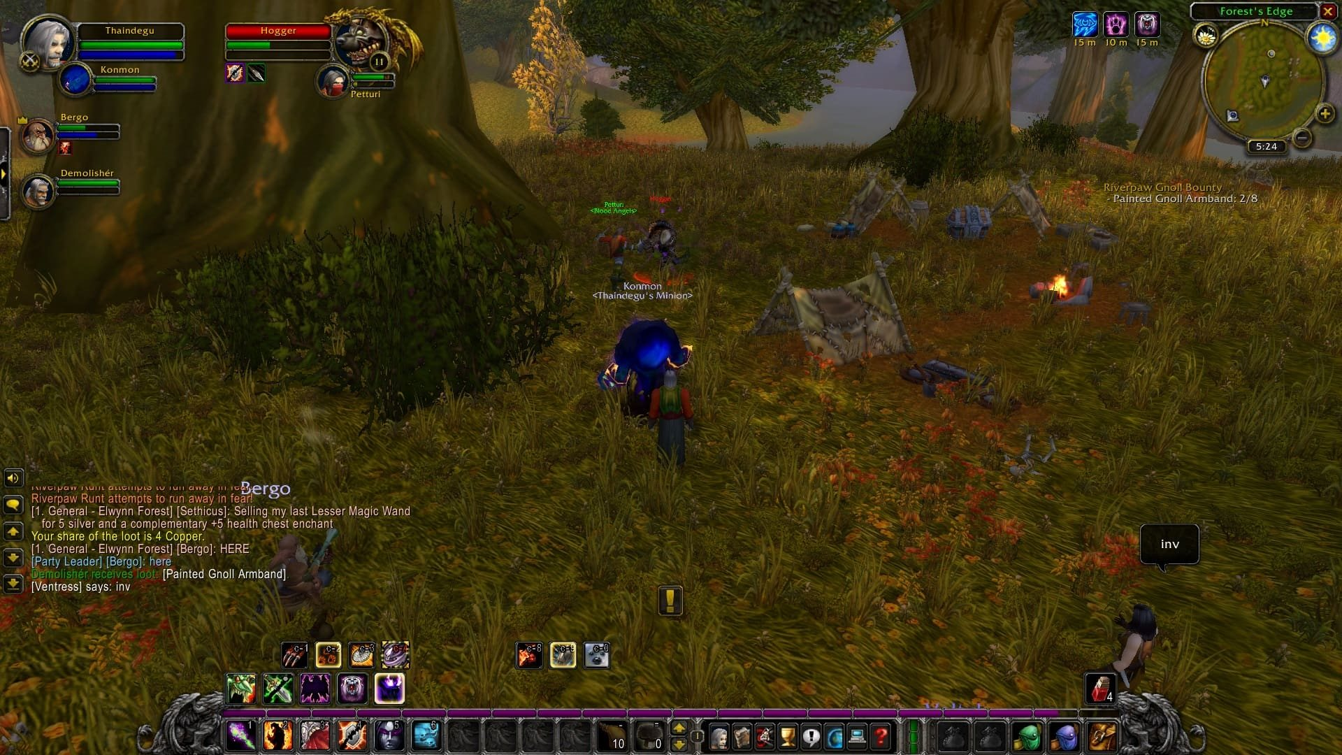 World of Warcraft Classic; gameplay: hogger