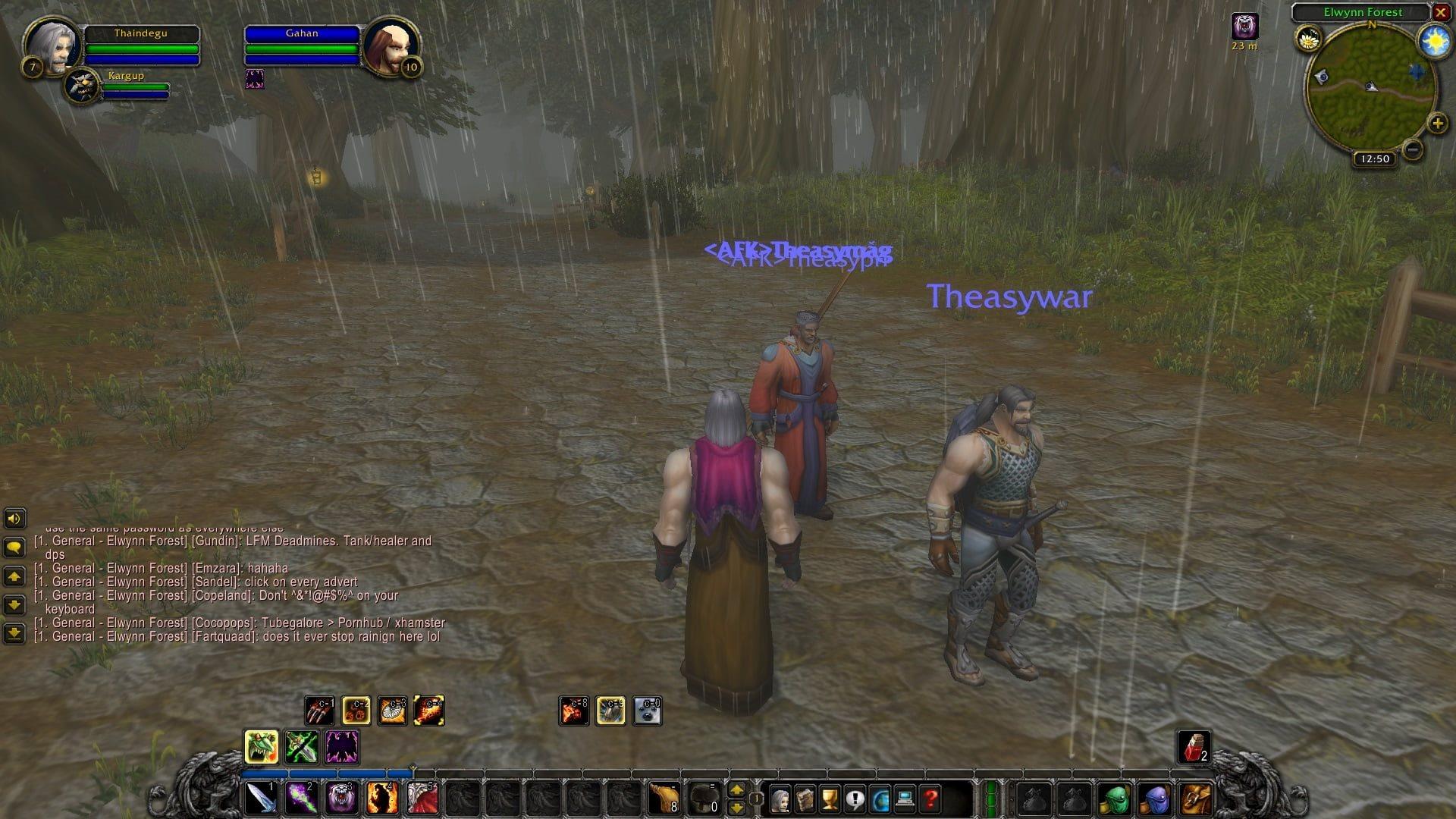World of Warcraft Classic; gameplay: klony