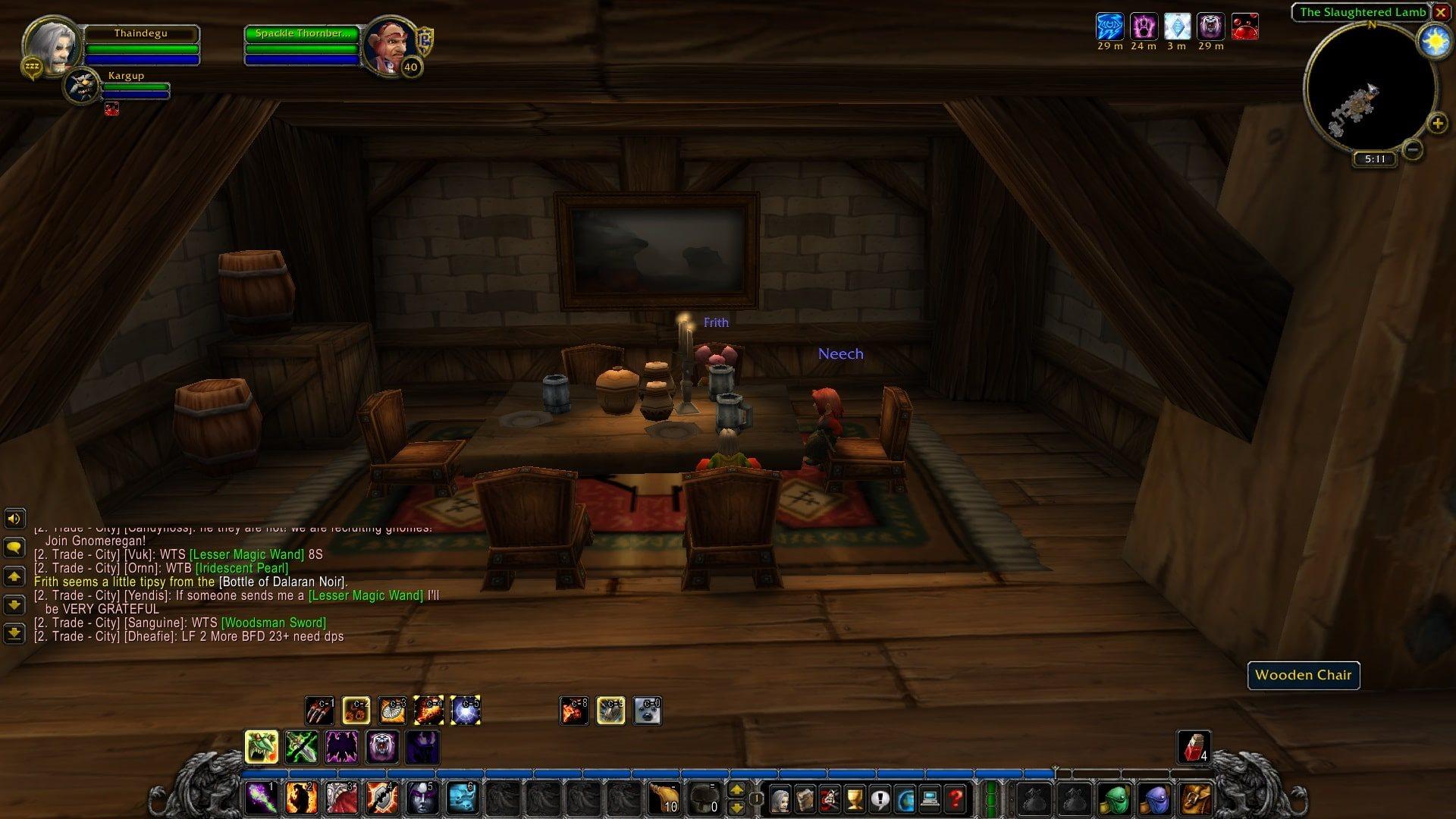 World of Warcraft Classic; gameplay: komunita