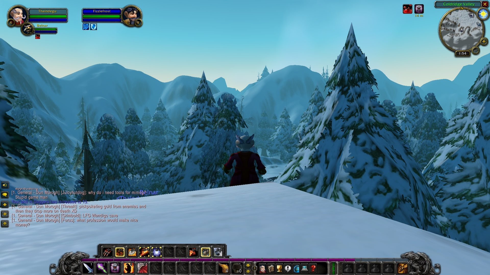 World of Warcraft Classic; gameplay: les