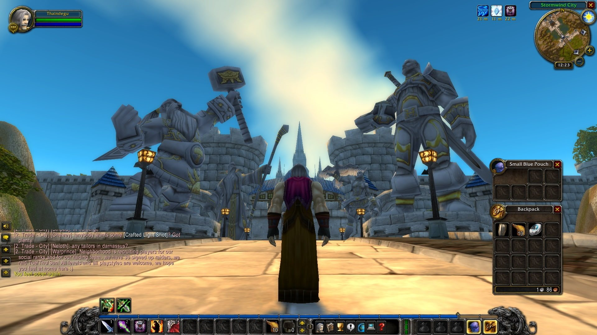 World of Warcraft Classic; gameplay: most