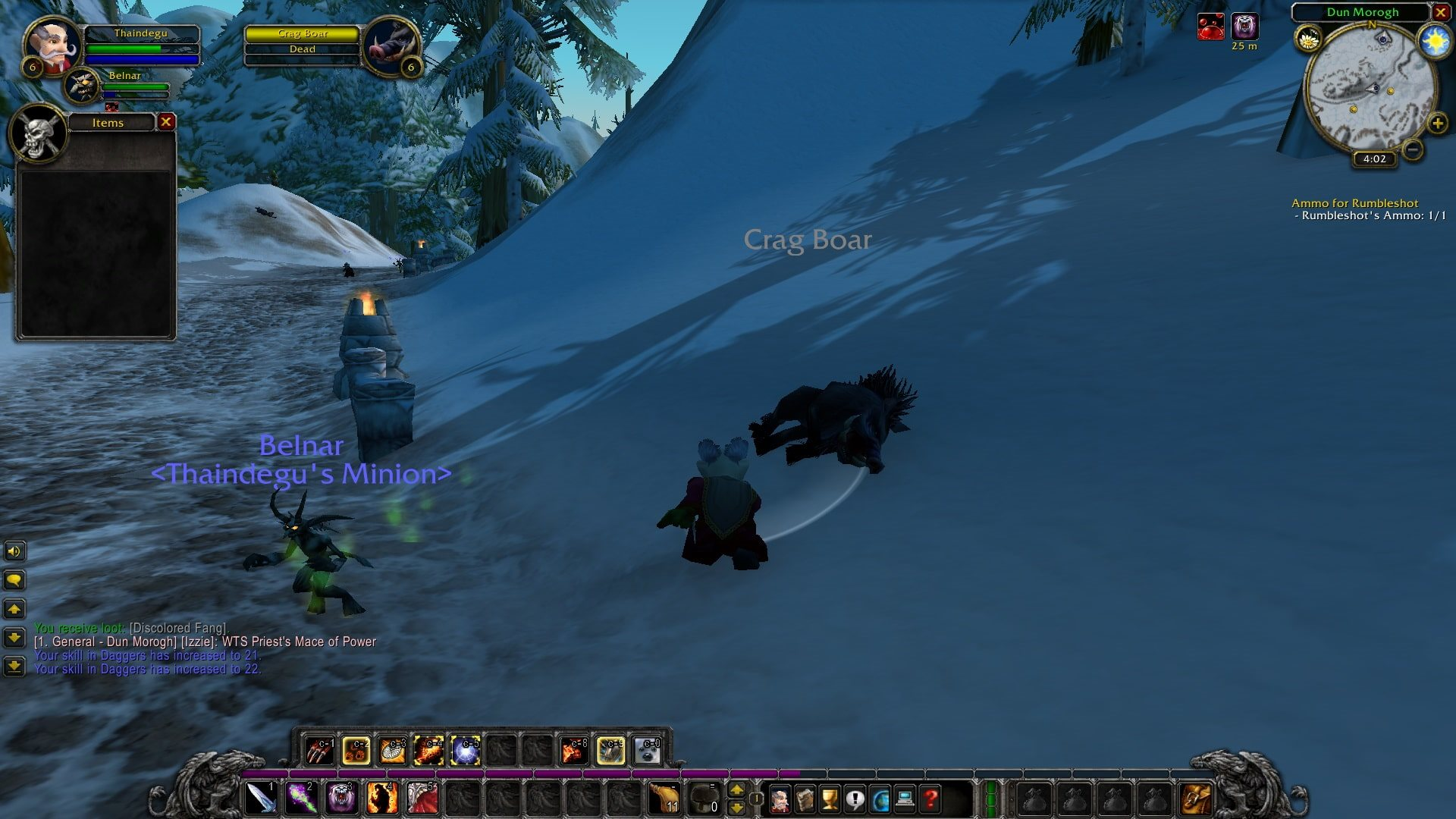 World of Warcraft Classic; gameplay: prázdne prasa