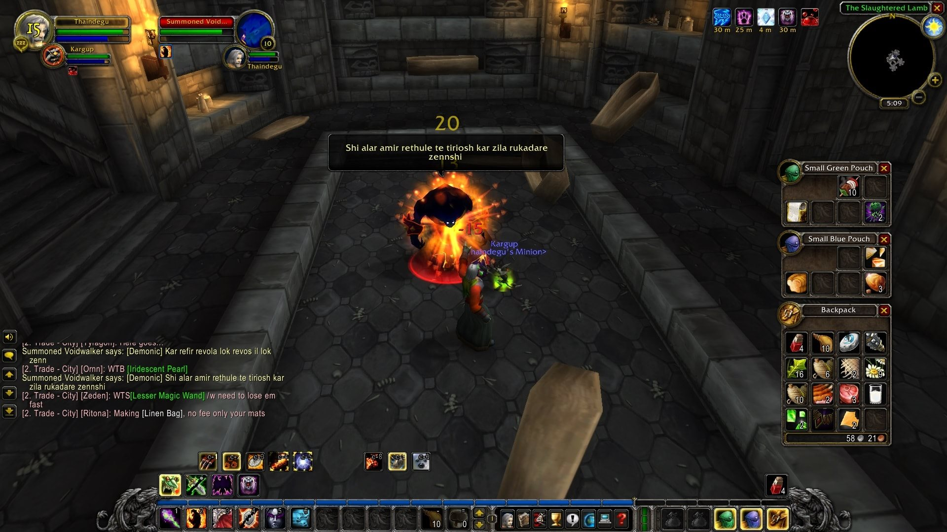 World of Warcraft Classic; gameplay: void