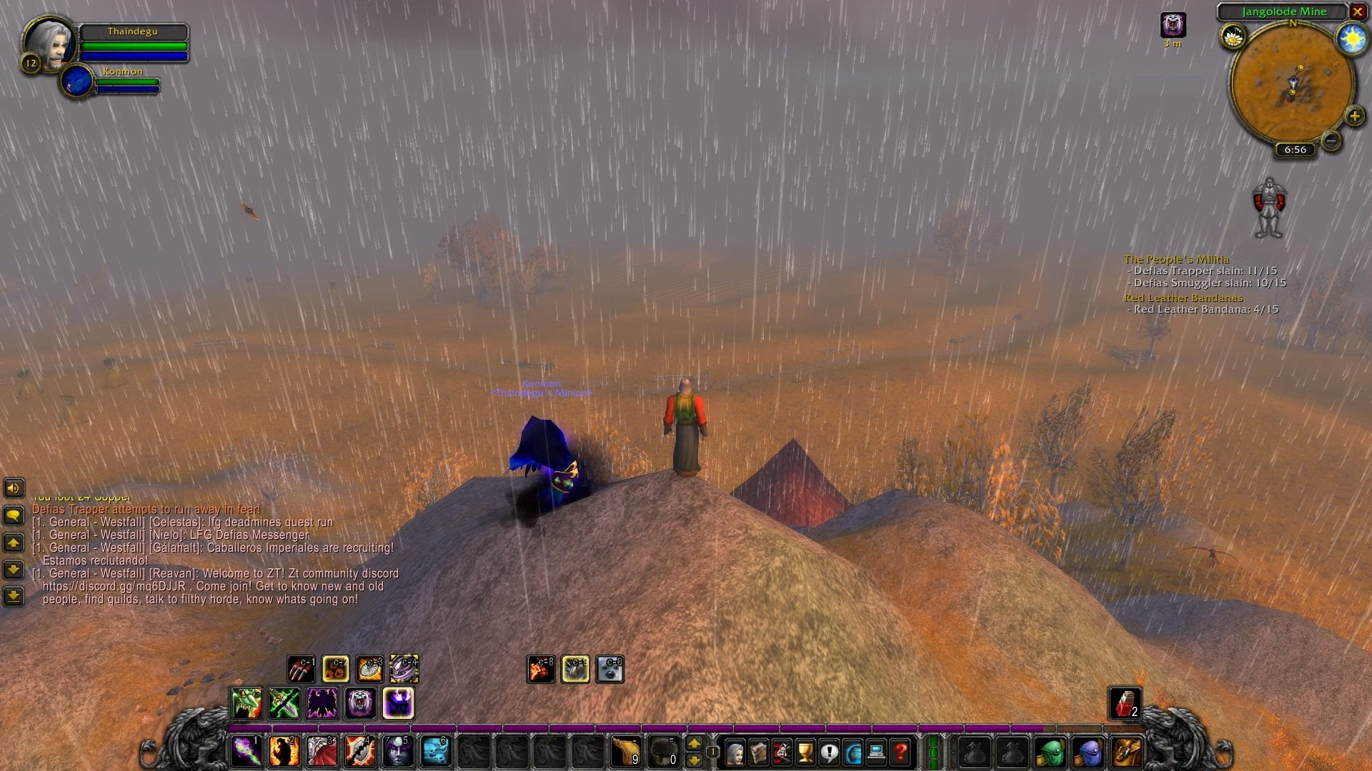 World of Warcraft Classic; gameplay: vrchol