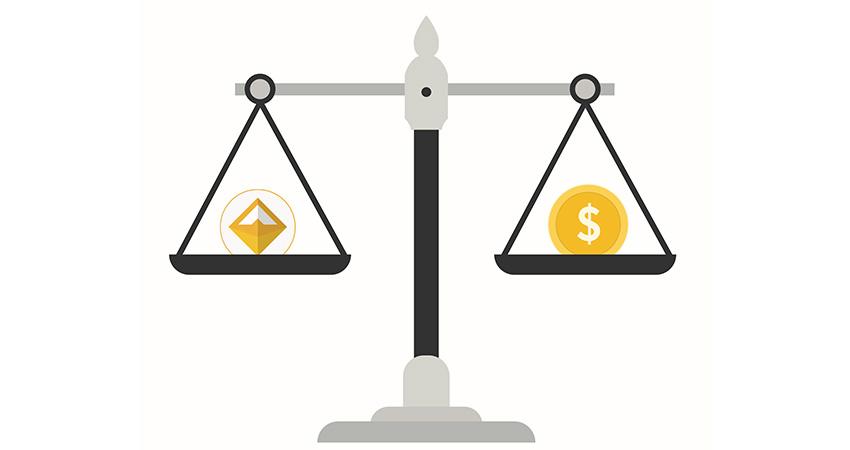 Maker DAO; grafika; stable coin DAI