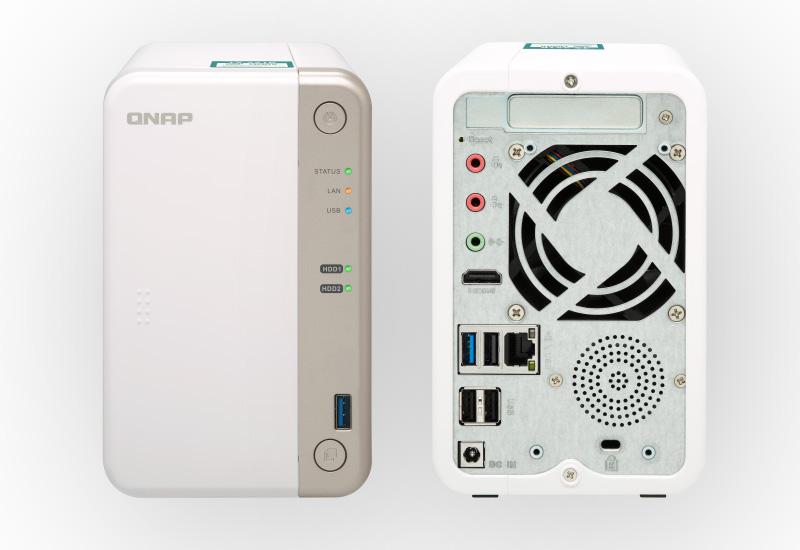 NAS server QNAP; dizajn