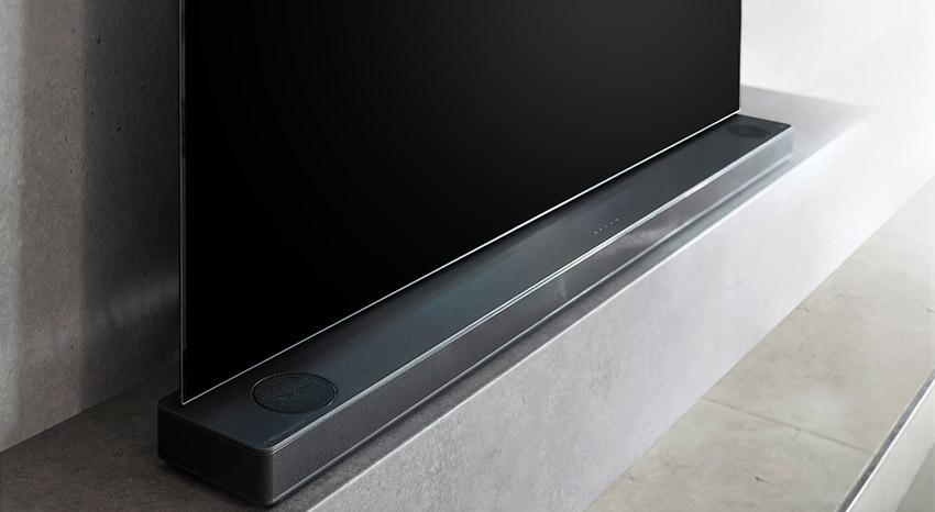 Soundbary LG, dizajn