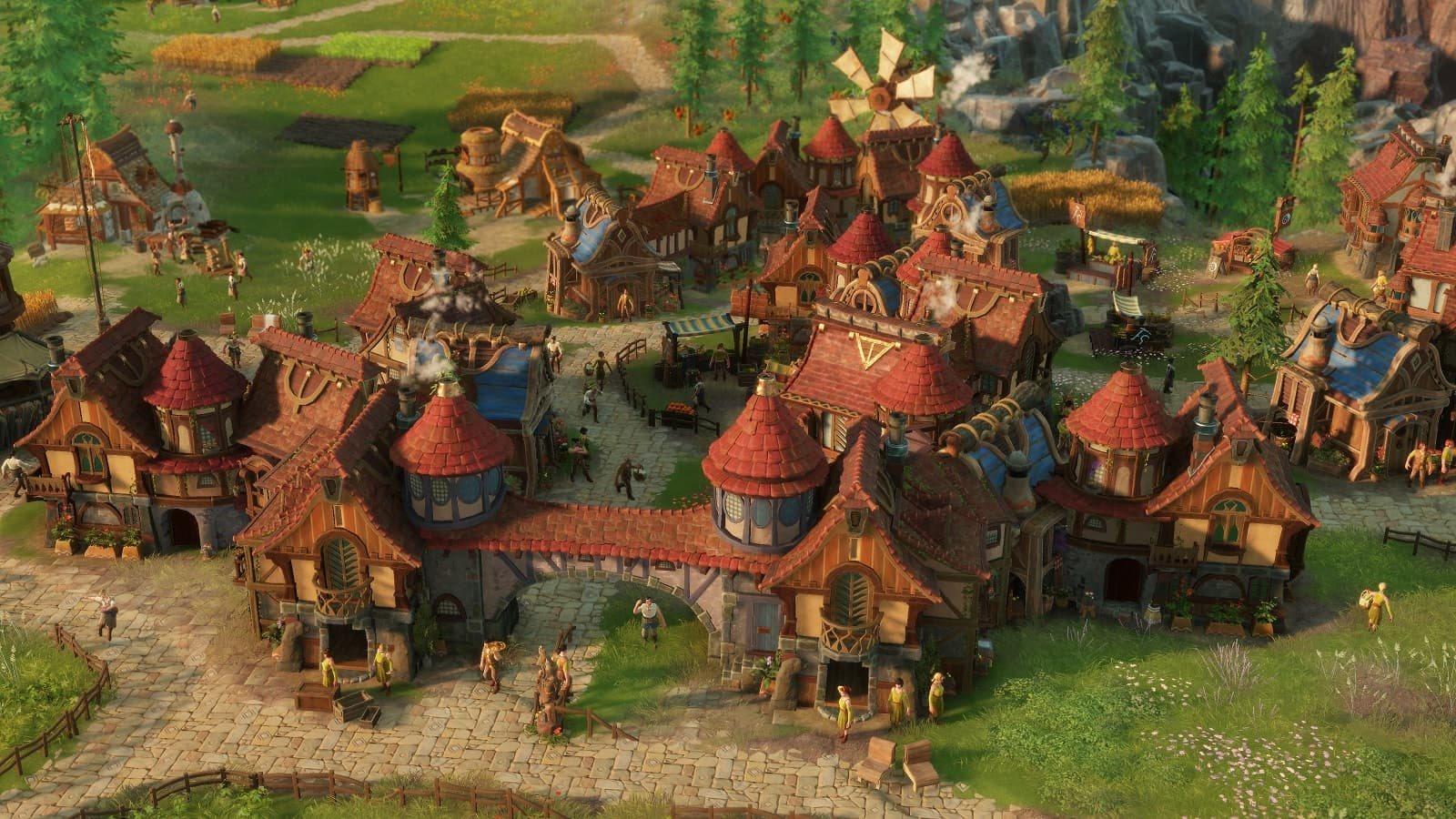 The Settlers; screenshot: mesto