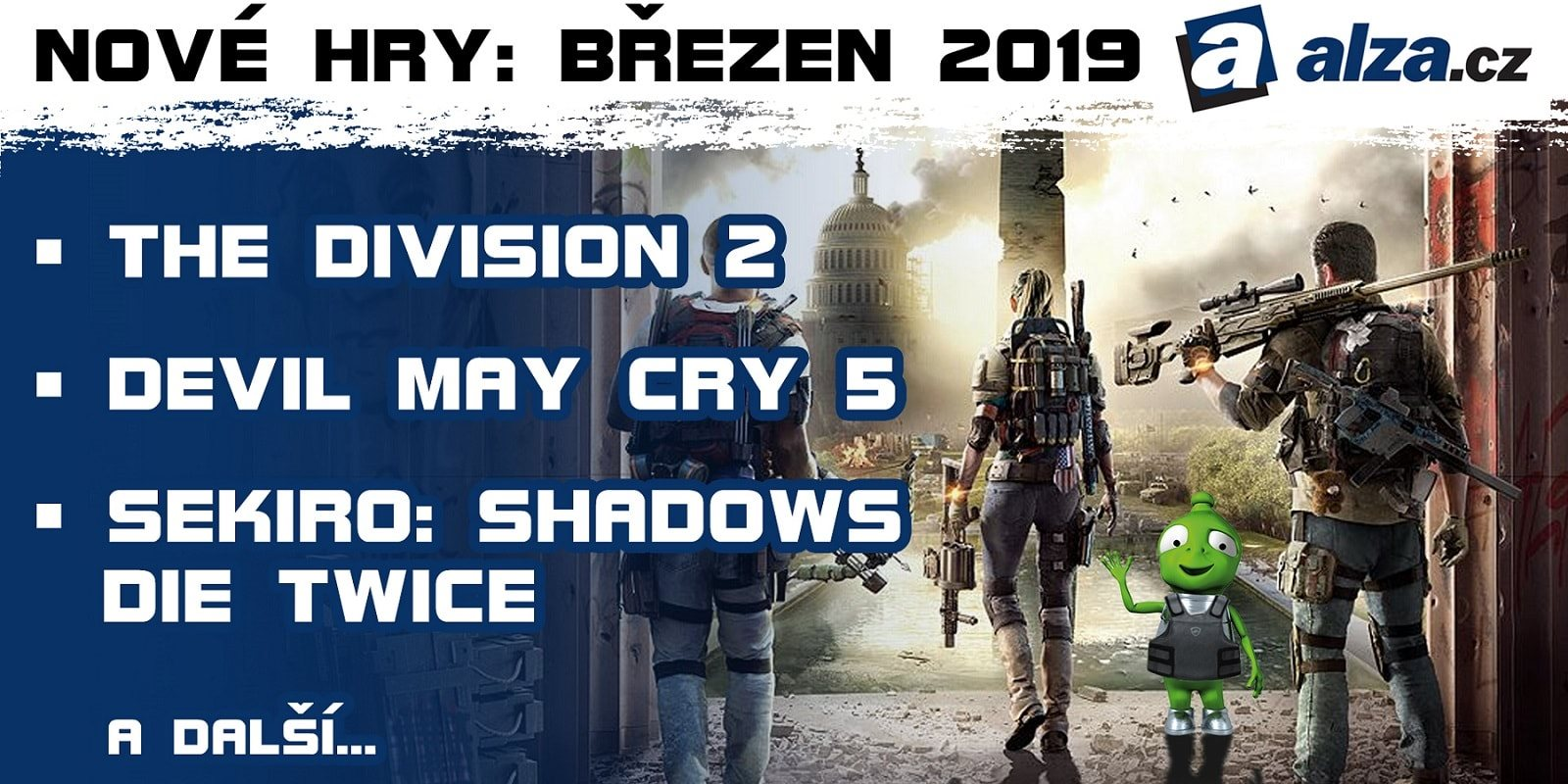 5a2e67e0dead Nové hry  marec 2019 – Tom Clancy s The Division 2