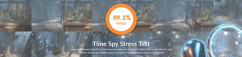 Sapphire Radeon VII 16G HBM2; 3DMark Stress  Test